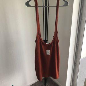 Rainbow Jumper Dress Size L Adjustable Strap